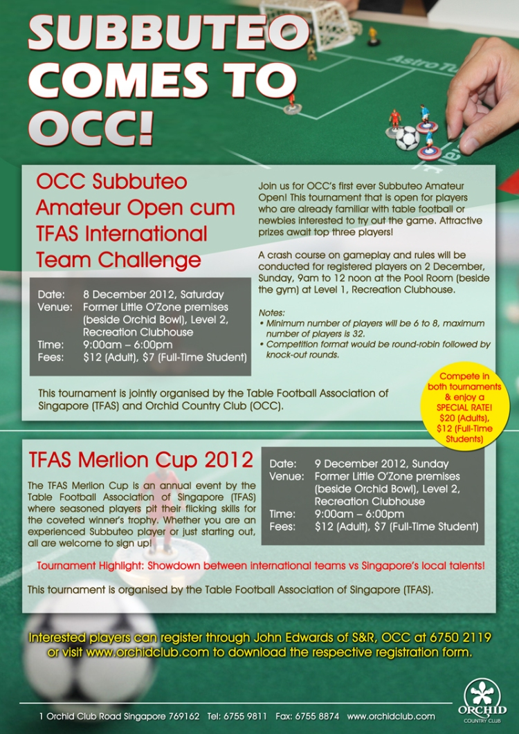 TFAS Merlion Cup 2012 2013 poster Subbuteo