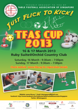 TFAS CUP 2013-poster final