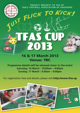 TFAS CUP 2013 poster