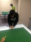 Azhar putting in work with his goalkeeping