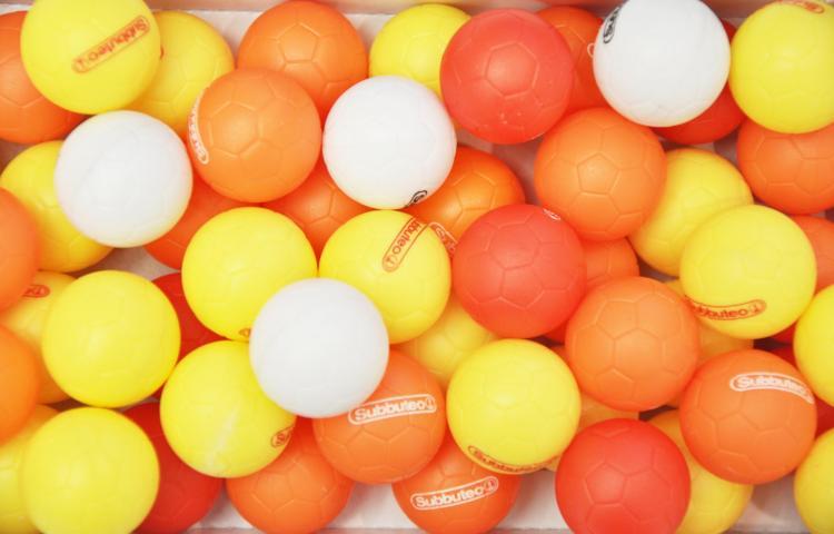 Balls from Subbuteo 893162_437154623030558_1881473608_o