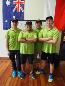 SGTFPL Selection (L-R): Antonio, Vikas, John, Bernard