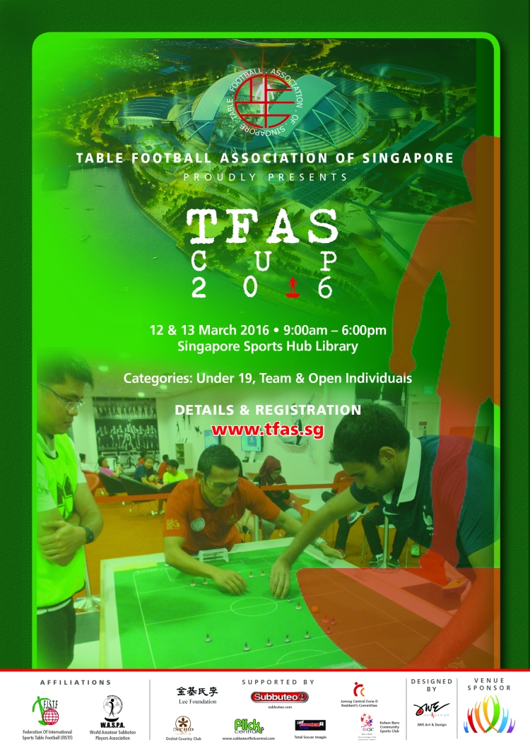 TFAS CUP 2016-Poster