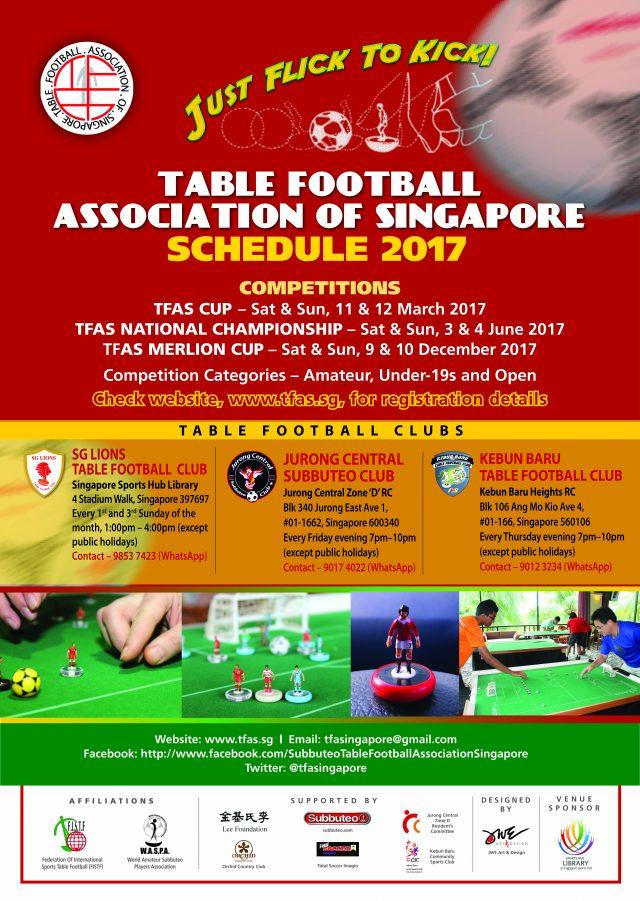 TFAS Schedule 2017 & Club information