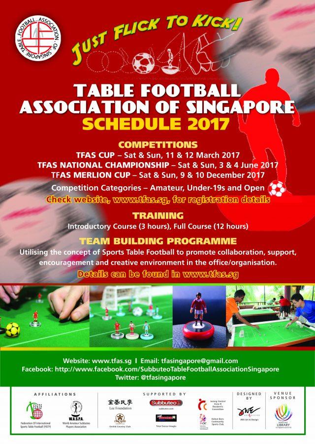 TFAS 2017 Schedule
