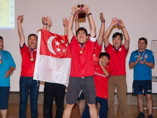 Team Singapore wins the Asian Cup 2017 in Japan !!